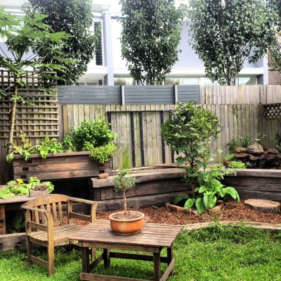 Garden And Patio, Cozy Small Backyard Landscaping House