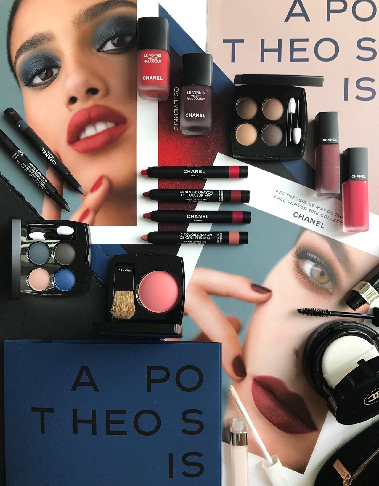 Chanel Apotheosis Fall 2018 Makeup Collection With Images