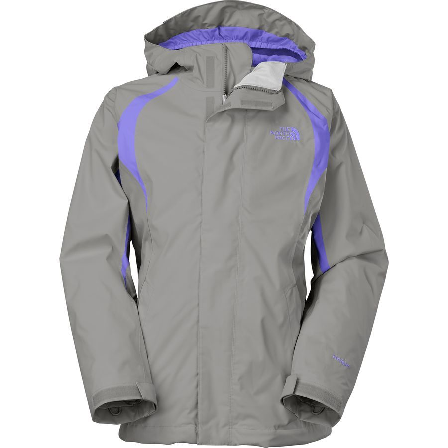The North Face Mountain Triclimate Jacket Girls Metallic Silver Starry Triclimate Jacket North Face Girls 3 In 1 Jacket [ 900 x 900 Pixel ]
