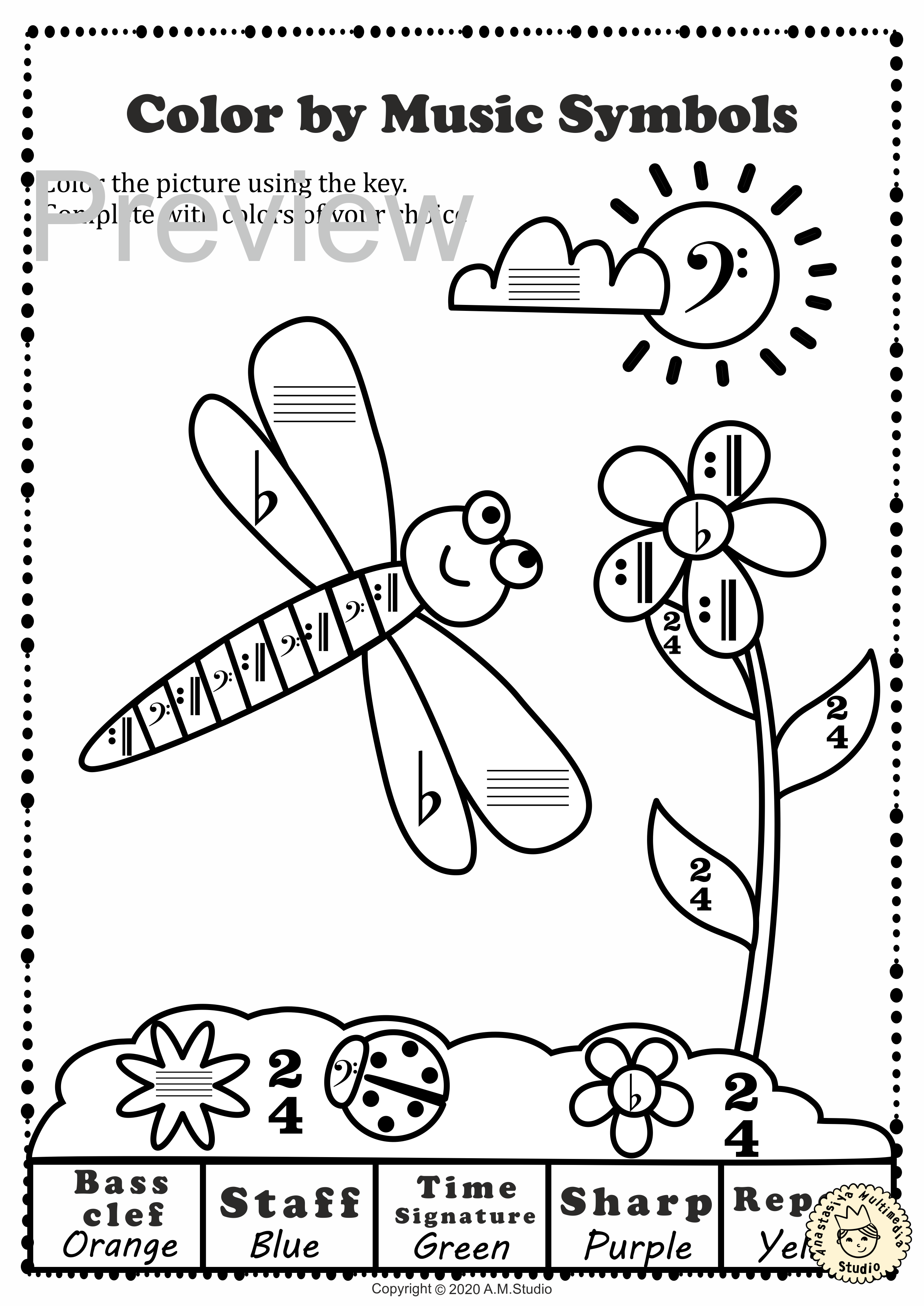 These Spring Themed Coloring Sheets Were Created To Help