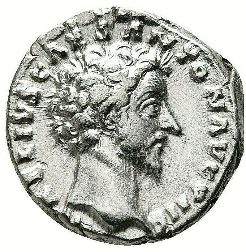 marcus aurelius silver coin