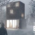 Advanced Post Production Techniques in Photoshop Winter Scene