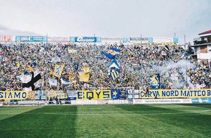 Parma FC on their way back to Serie A.  1 Promotion down 2 to go...