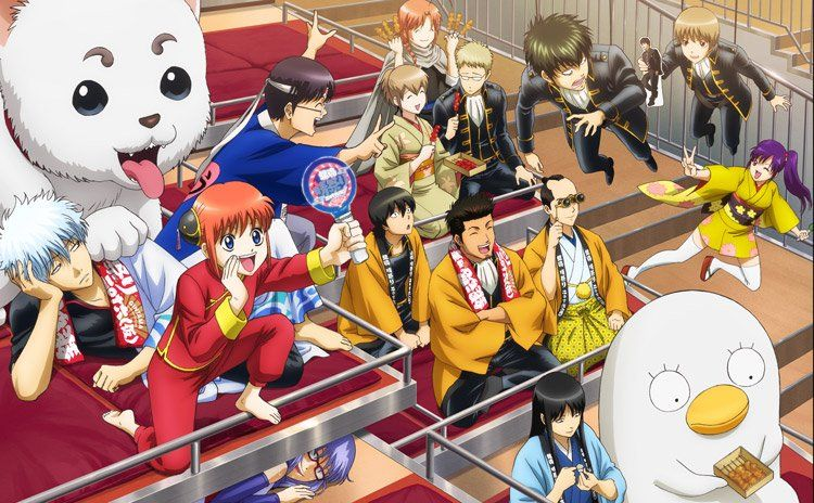アニメ銀魂 (@gintamamovie) | Twitter | Anime, Comedy anime ...