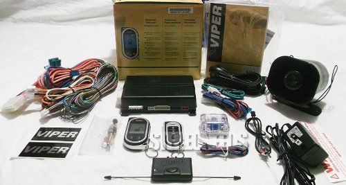 Ads 5704V Viper 2 Way Alarm Remote Start. Great alarm