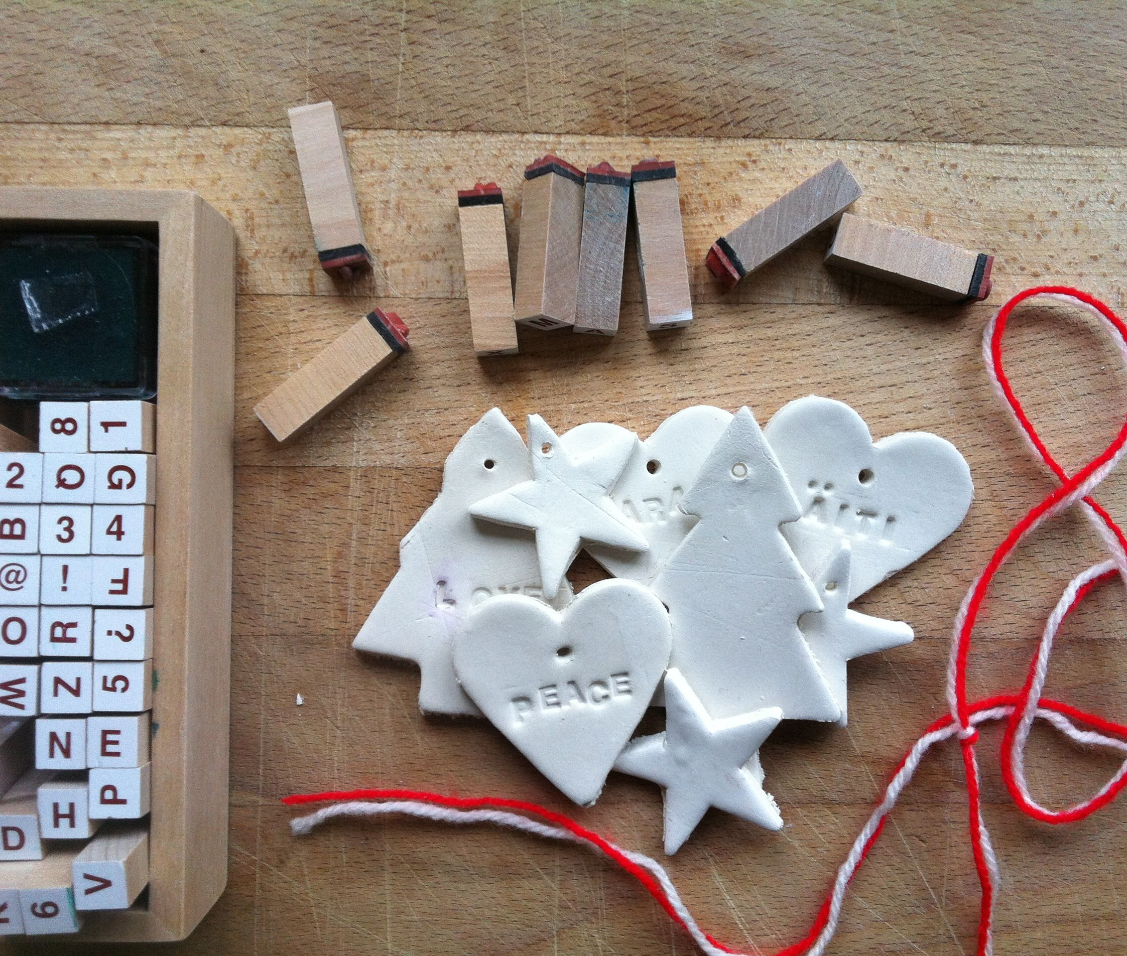 Diy Gift Labels From Clay (From The Lovely Tracks Of