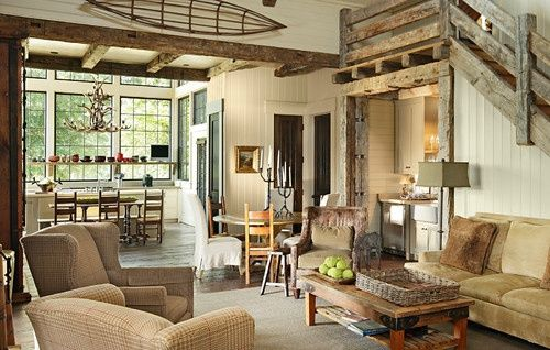 Houzz Home Design Decorating And Remodeling Ideas And Inspiration Kitchen And Bathr Rustic Living Room Design Living Room Decor Rustic Cottage Living Rooms