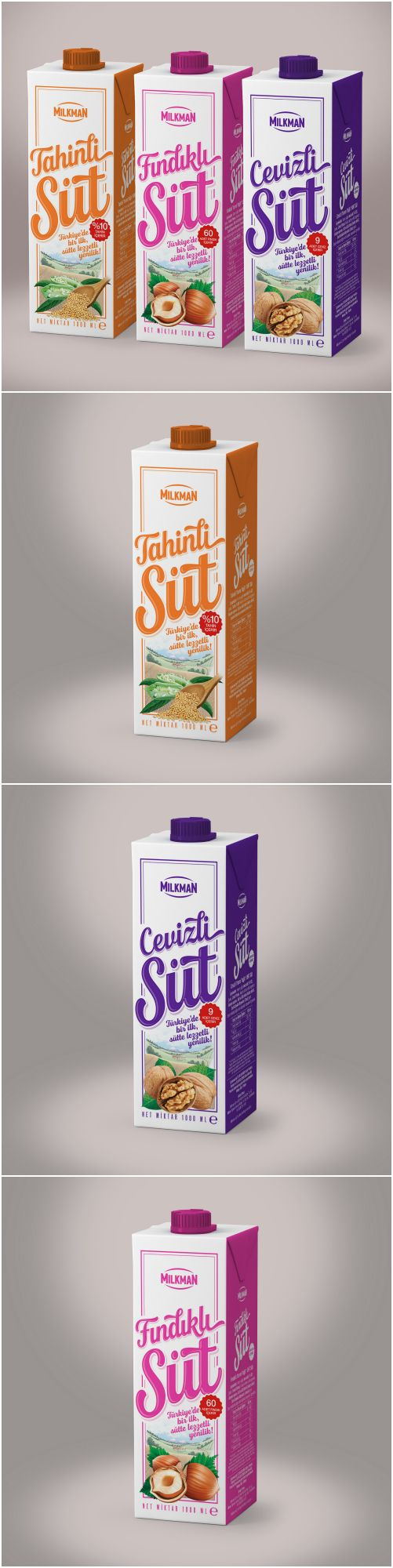 Brand Identity And Packaging Designed For Milkman S Milk Products World Brand Design Society Dairy Packaging Dairy Drinks Packaging Design