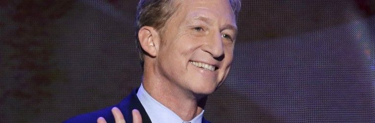 Tom Steyer thankful for the .5% who agree with him