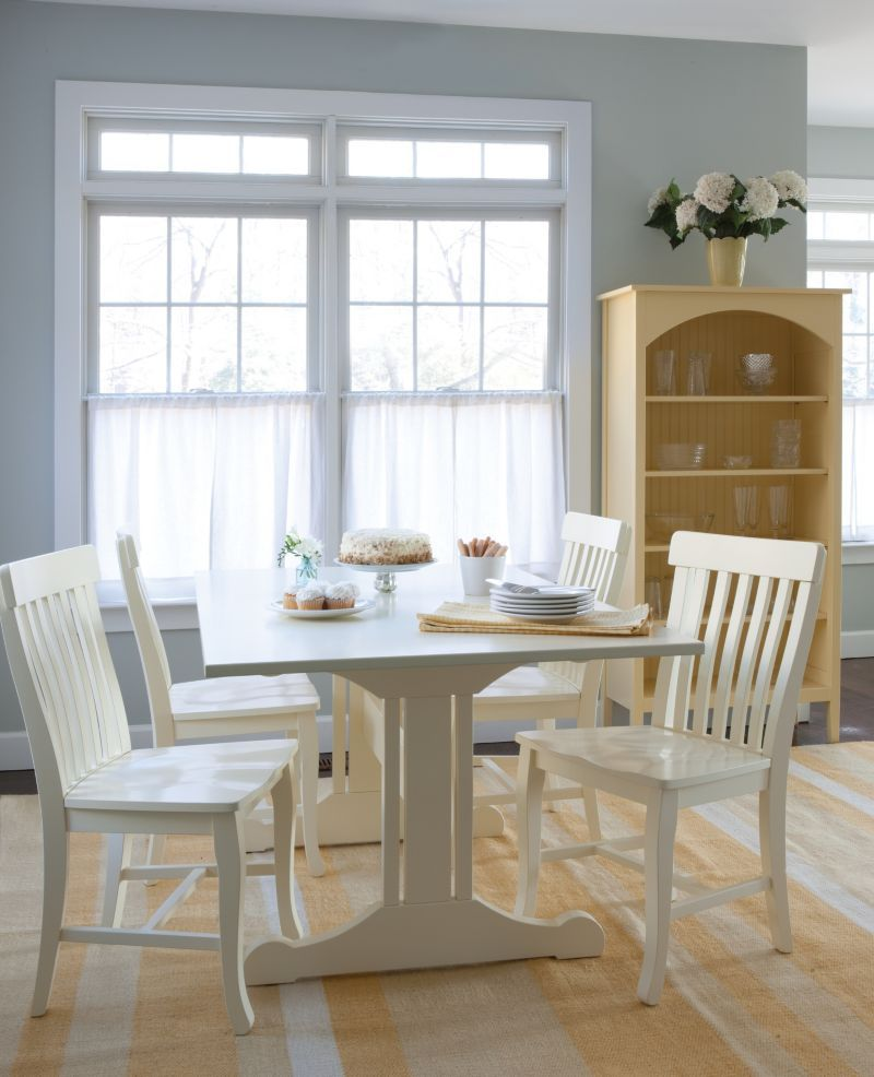 Inga Trestle Dining Table | Maine cottage, Trestle dining tables and ...