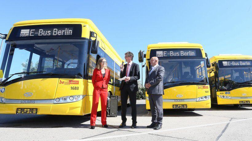 #TRANSPORT #SWD #GREEN2STAY BVG testet Elektro-Busse - Gelb fährt auf Grün ab