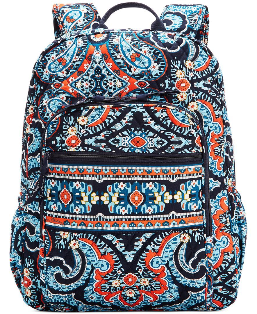 f70fcc440 Vera Bradley Campus Backpack - Vera Bradley - Handbags & Accessories -  Macy's