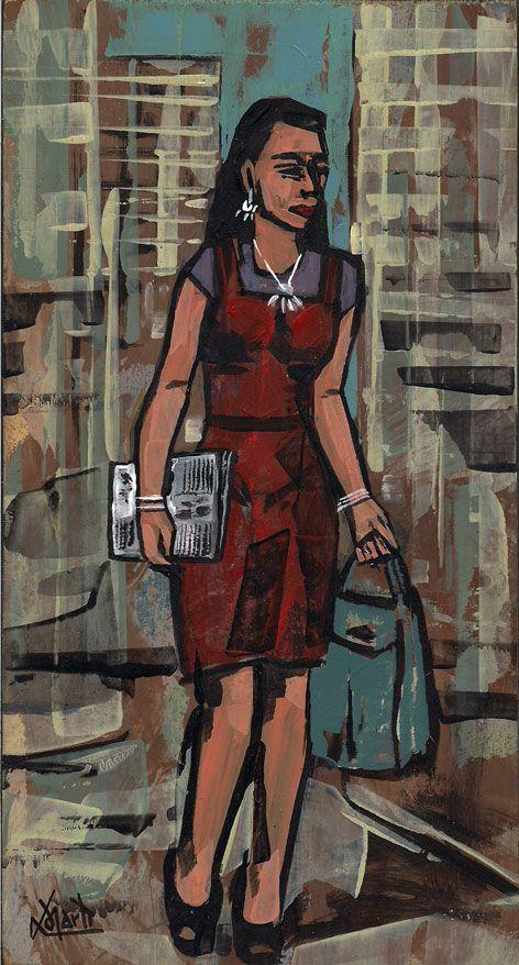 Vestido roxo | Lomarti | Crafies