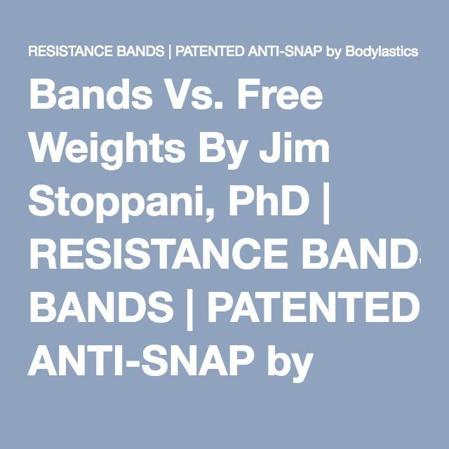 Bands Vs. Free Weights By Jim Stoppani, PhD