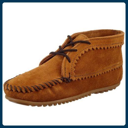 Minnetonka Suede Ankle Boot, Damen Kurzschaft Mokassin Boots