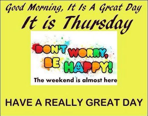 Good Morning Quotes Thursday : Good morning its thursday picture sayings pinterest