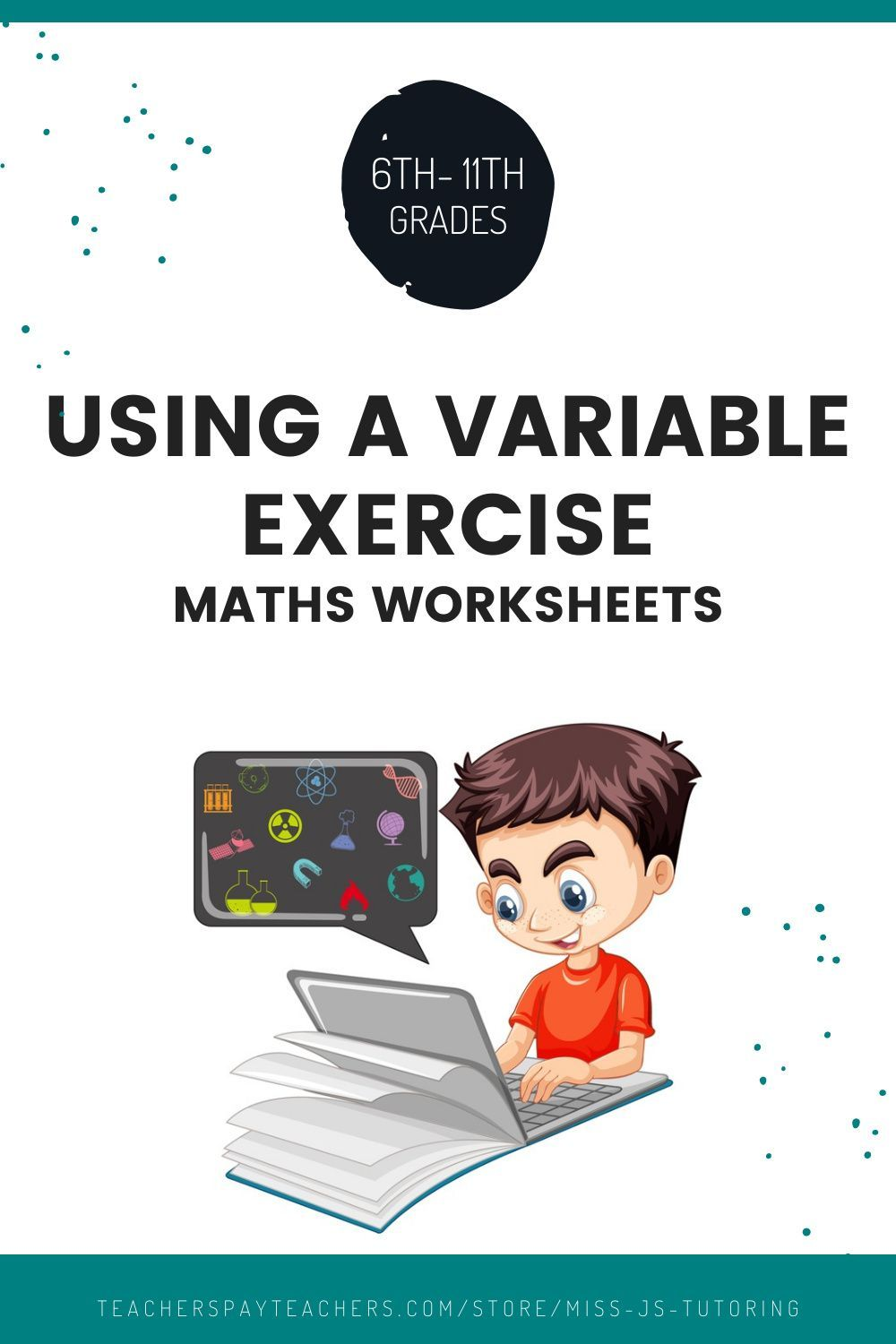 Using A Variable Exercise In 2020 Homeschool Activities Business For Kids Elementary Lesson [ 1500 x 1000 Pixel ]
