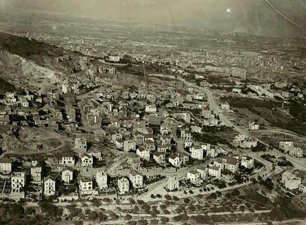 Història De L Avinguda Mare De Déu De Montserrat Barcelona Montserrat Paisajes