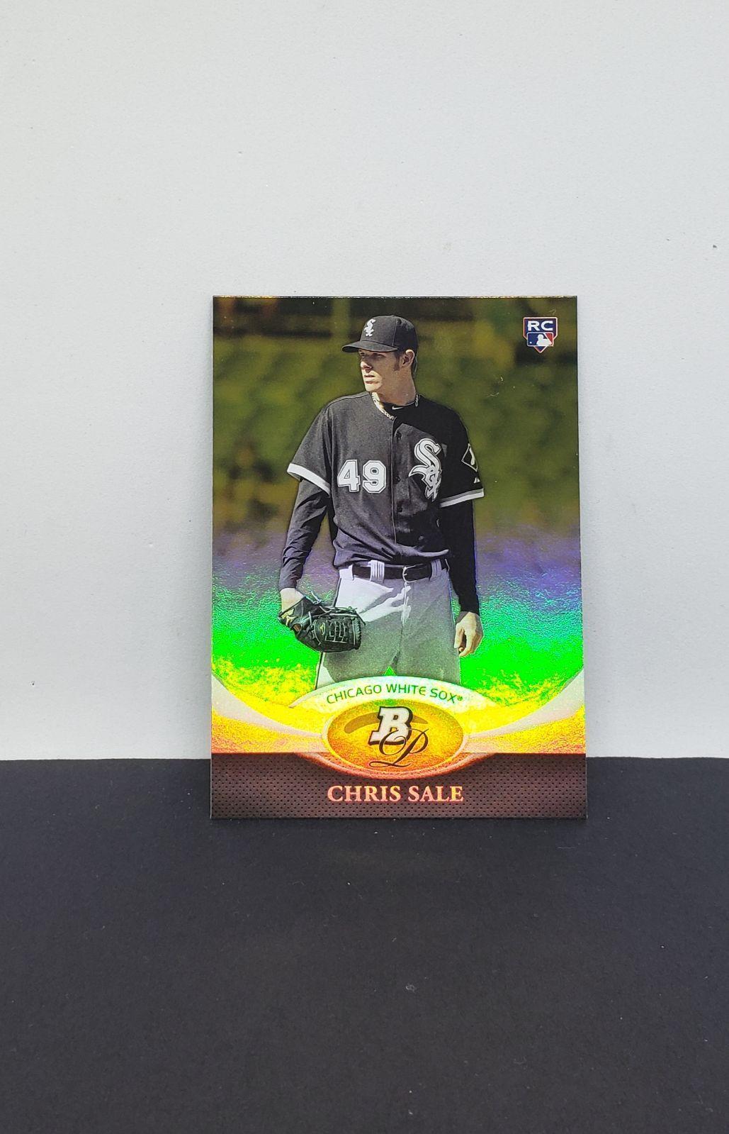 2011 bowman platinum chris sale rookie chicago white sox