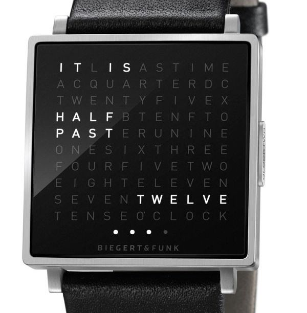 time as text  if I wore a watch