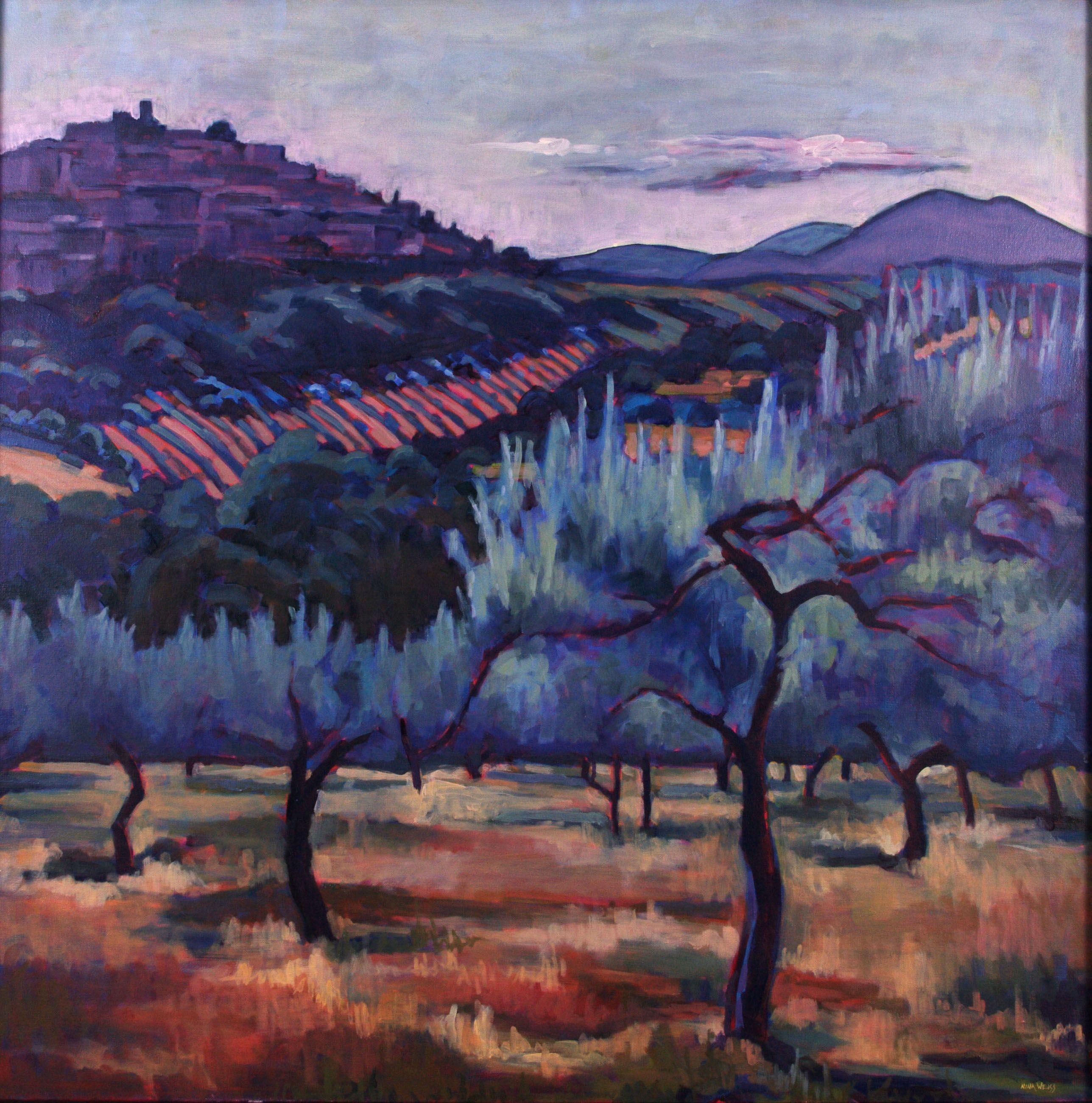 "Nina Weiss ""Vedute Casperia"" Oil on Canvas painting from Nina"