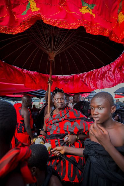Ashanti funeral in kumasi | Festivals in Red | African life, African