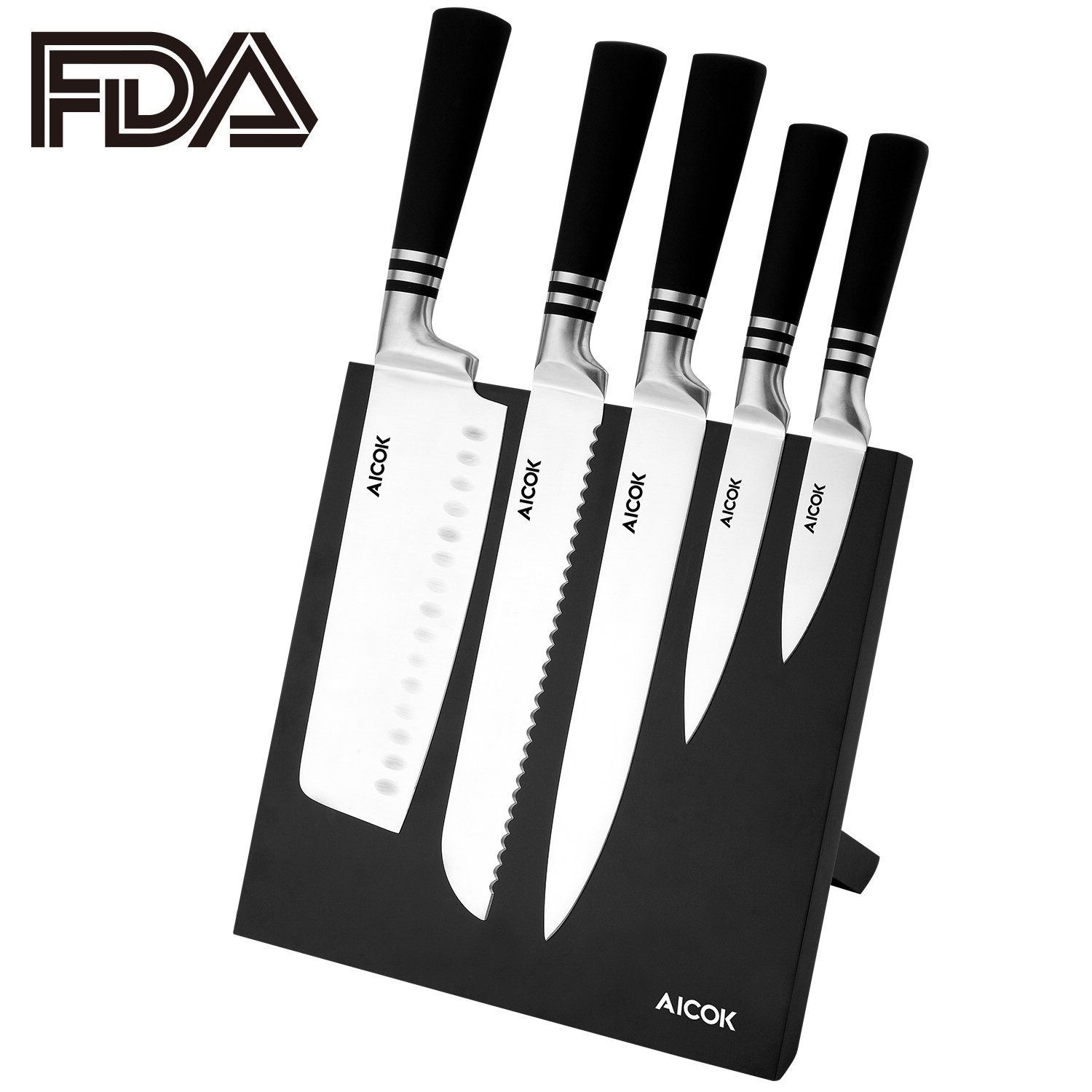 Cucina 6-pc Steak Knife Set Pin By Superrisparmio On Superrisparmio Knife Stand Magnetic
