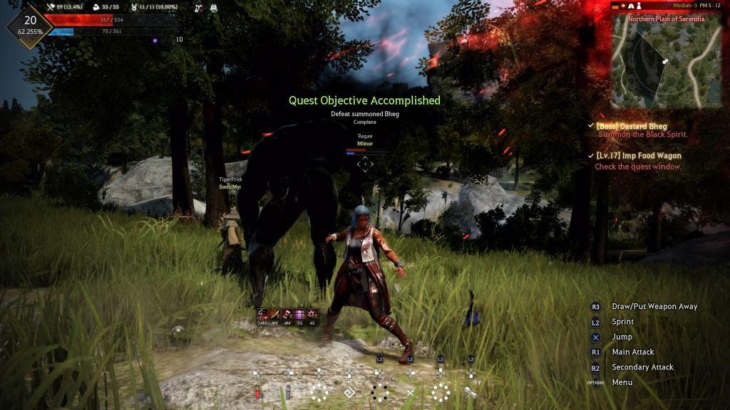 BlackDesert PS4 betatest (review) videogame mmorpg