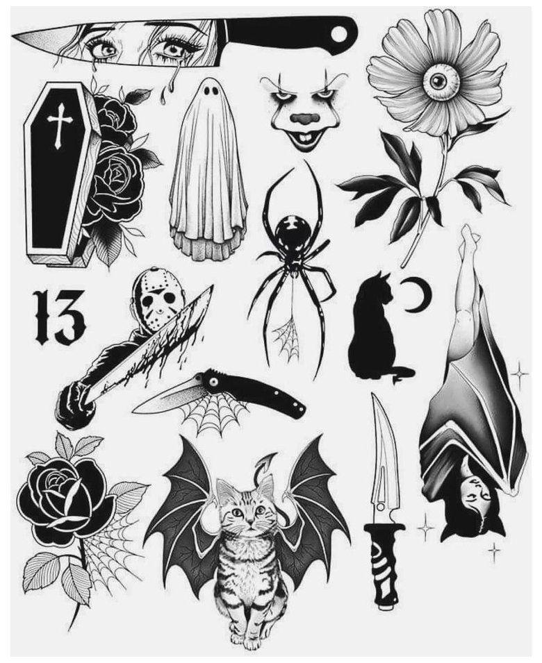 desenhos para tatuagens retro