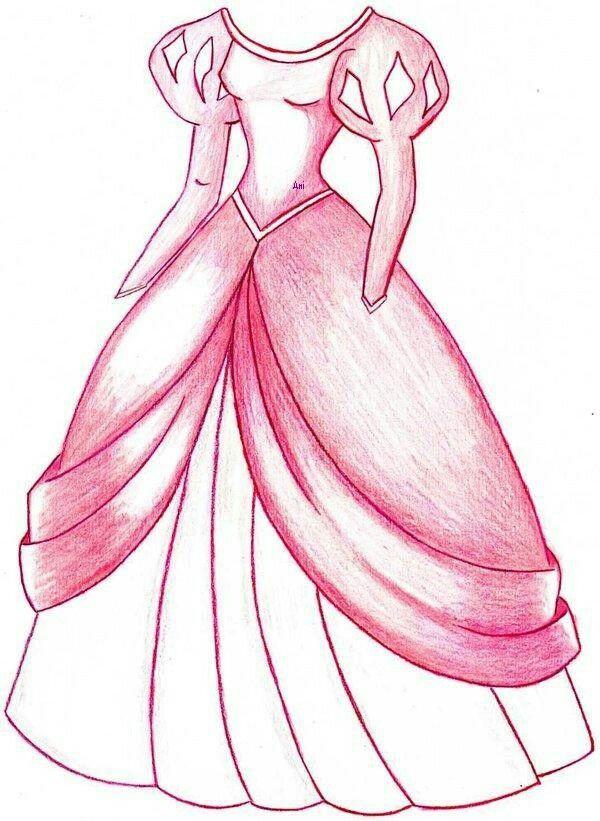 Ariel S Pink Dress Disney Princess Drawings Princess Drawings