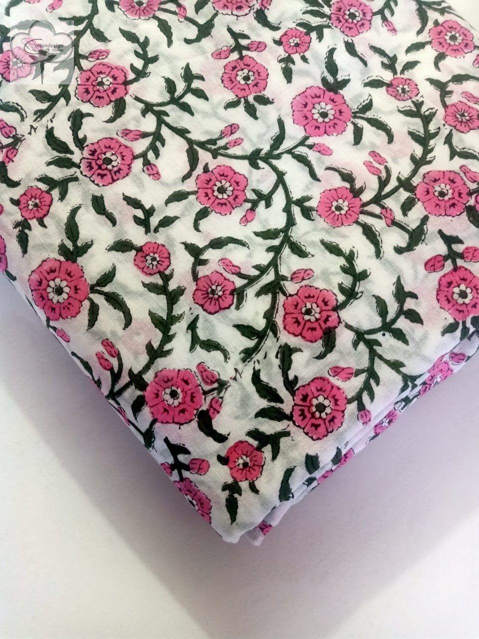 Summer Dress Voile Cotton Fabric Hand Block Print Fabric By Etsy In 2021 Block Printing Fabric Printing On Fabric Floral Print Fabric [ 1280 x 960 Pixel ]