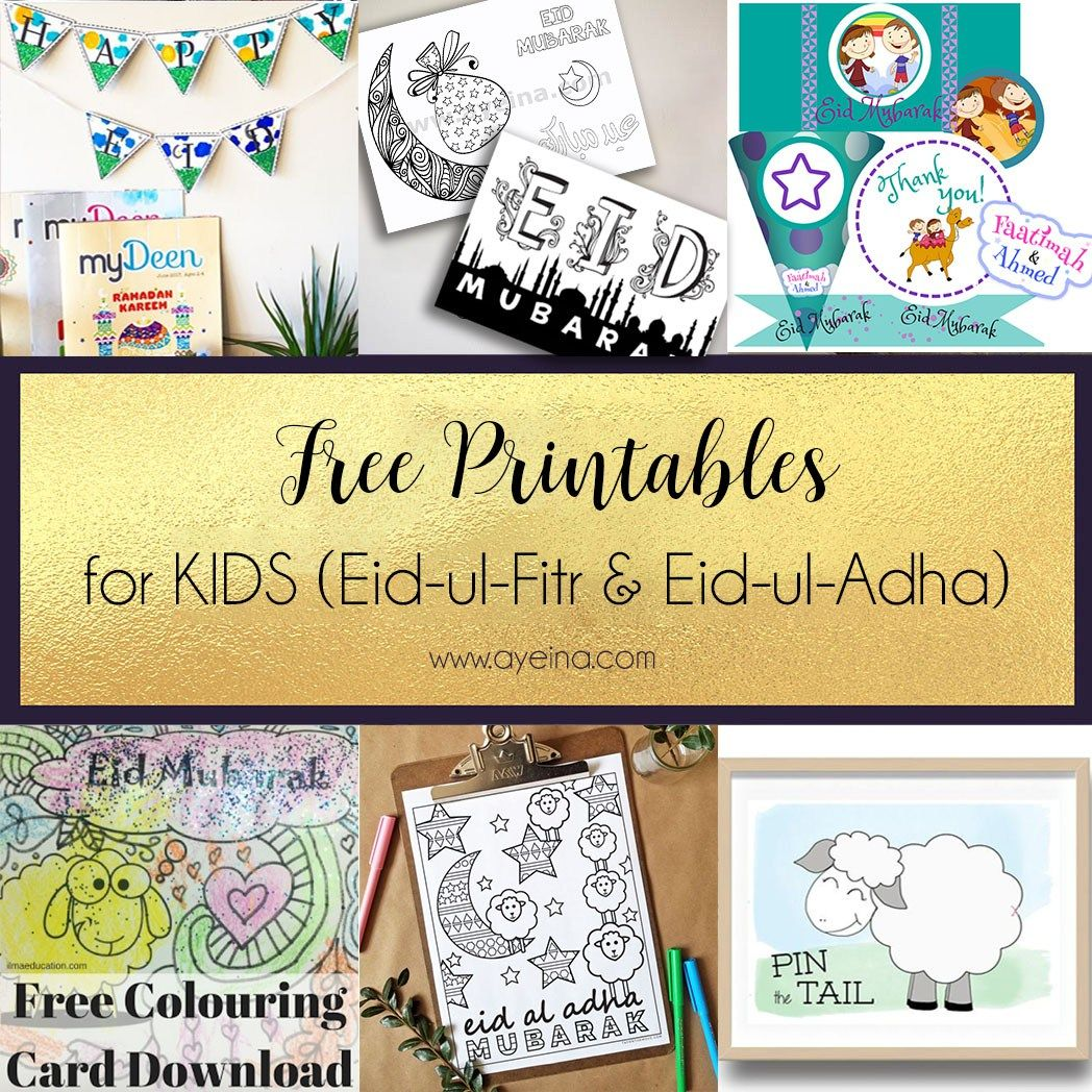 Ultimate List Of Free Eid Printables Updated 2020 With Images