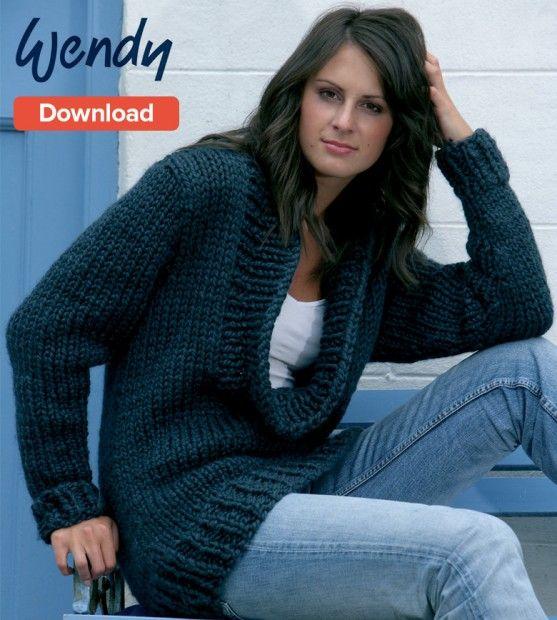 ea131f03a Wendy Free Sweater Pattern Download. Wendy Free Sweater Pattern Download Chunky  Knitting ...