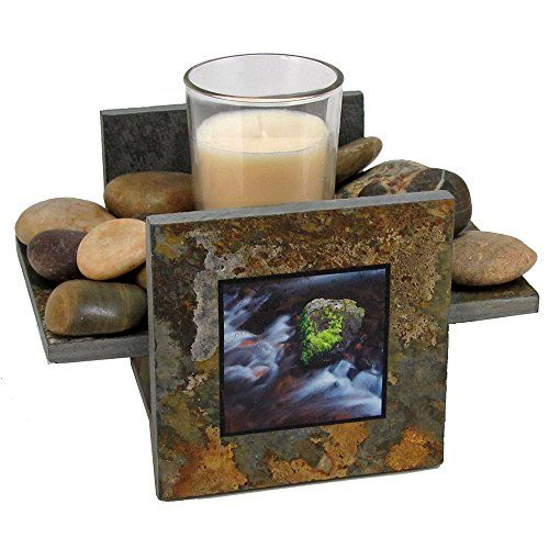 Illustrated Light Handmade Natural Stone Candle Plate Holder Set Colorado Photography CH2353  sc 1 st  Pinterest & Illustrated Light Handmade Natural Stone Candle Plate Holder Set ...