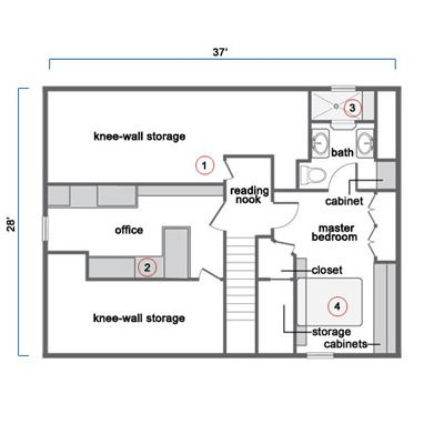 Tapping Existing Potential To Create An Attic Master Suite Attic Master Suite Attic Renovation Attic Remodel