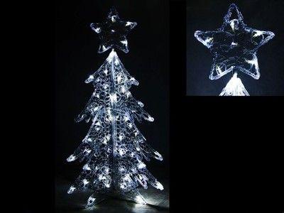Duza Swiecaca Choinka Led Lampki Ozdoba 120 Cm 6649611171 Oficjalne Archiwum Allegro Christmas Tree Holiday Decor Holiday