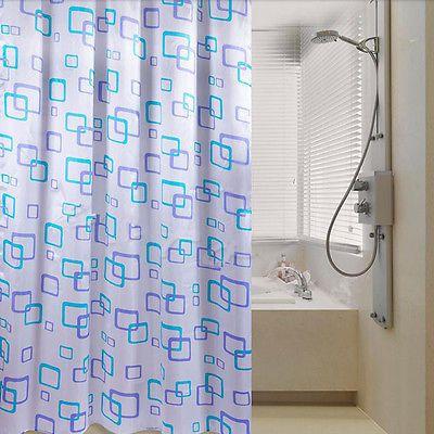 Shower Curtain Bathroom Waterproof Polyester Fabric Random Pattern & Hooks PO https://t.co/IRfVnRpCEJ https://t.co/vqO01wbfPX