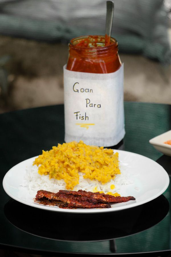 Goan para fish marinated fish pickle recipe yellow lentils food forumfinder Image collections