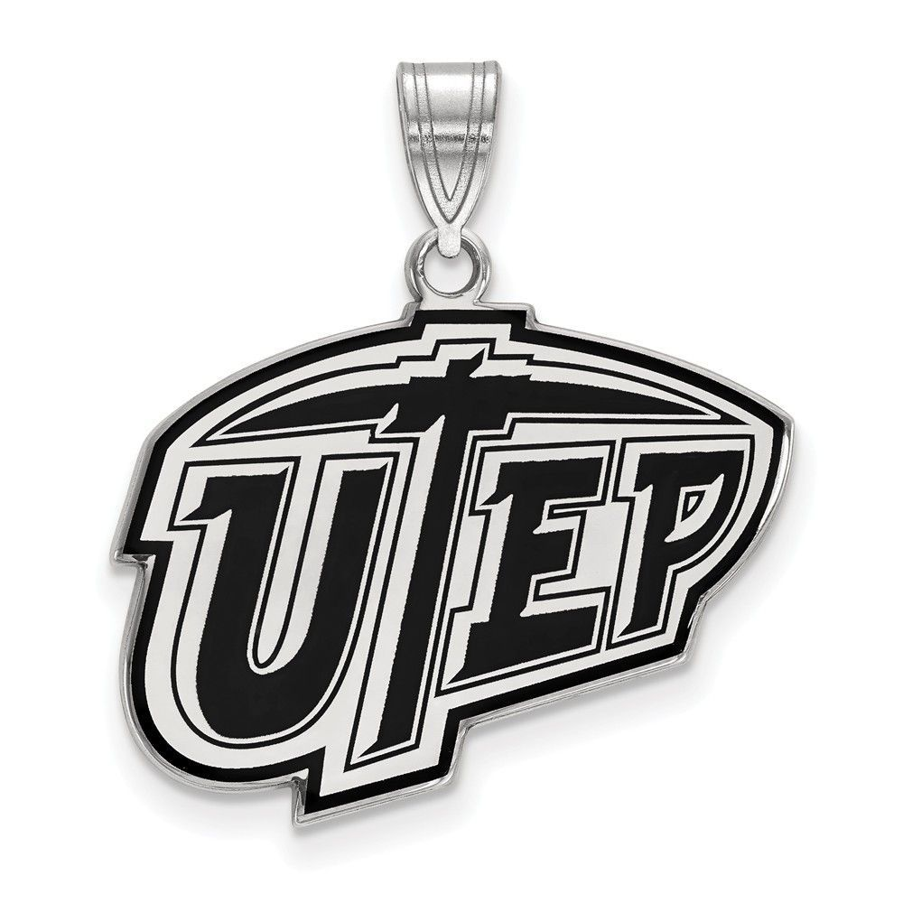 Jewelry Box El Paso Sterling Silver Logoart The University Of Texas At El Paso Large