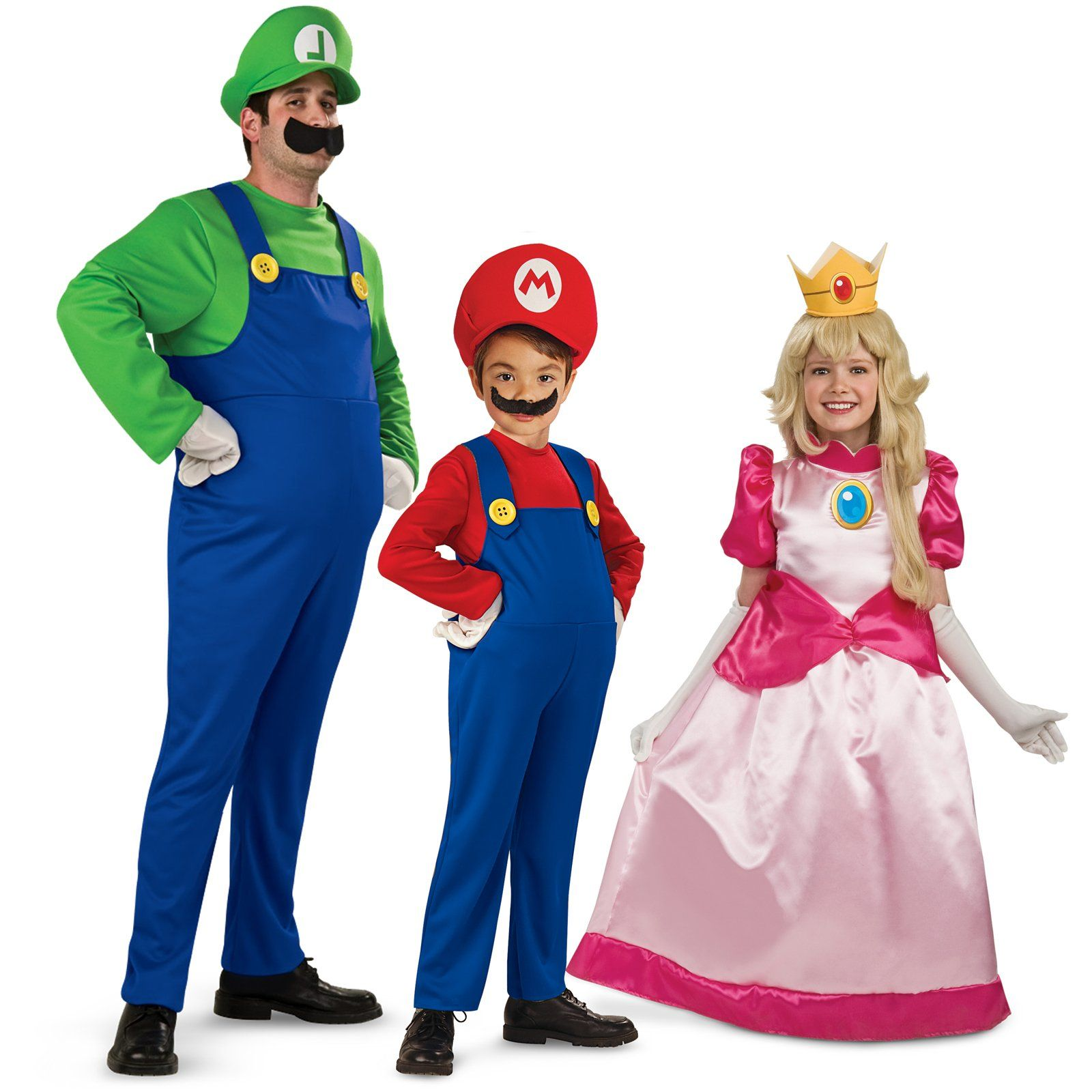 Power up! Super Mario costumes for kids and parents ...