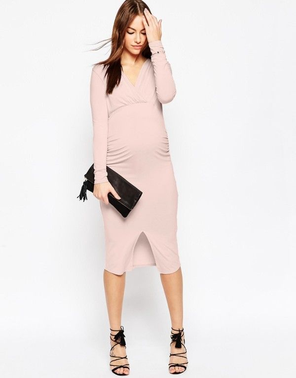29583da62 Vestidos juveniles para embarazadas ¡opciones modernas!