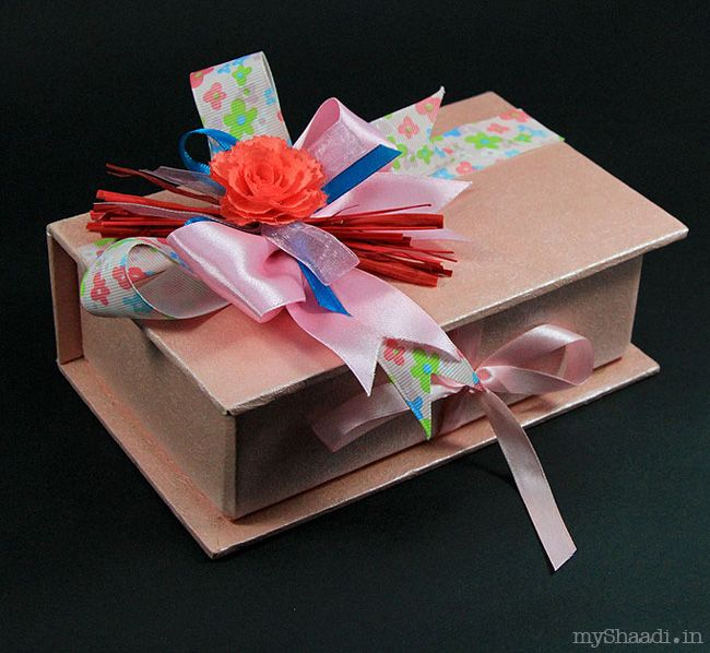 Trendy Ideas For Trousseau Packing Wedding Favours