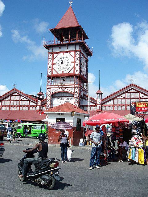 Stabroek Market   My homeland in 2019   British guiana