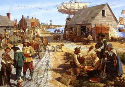 New Hampshire Colony Food | Colonial Life in the first 13 Colonies ...