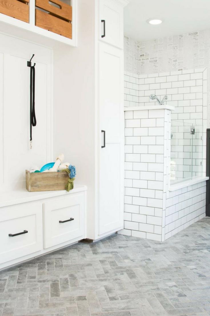 Bathroom Remodels Fixer Upper the cargo ship house | house, laundry and mudroom