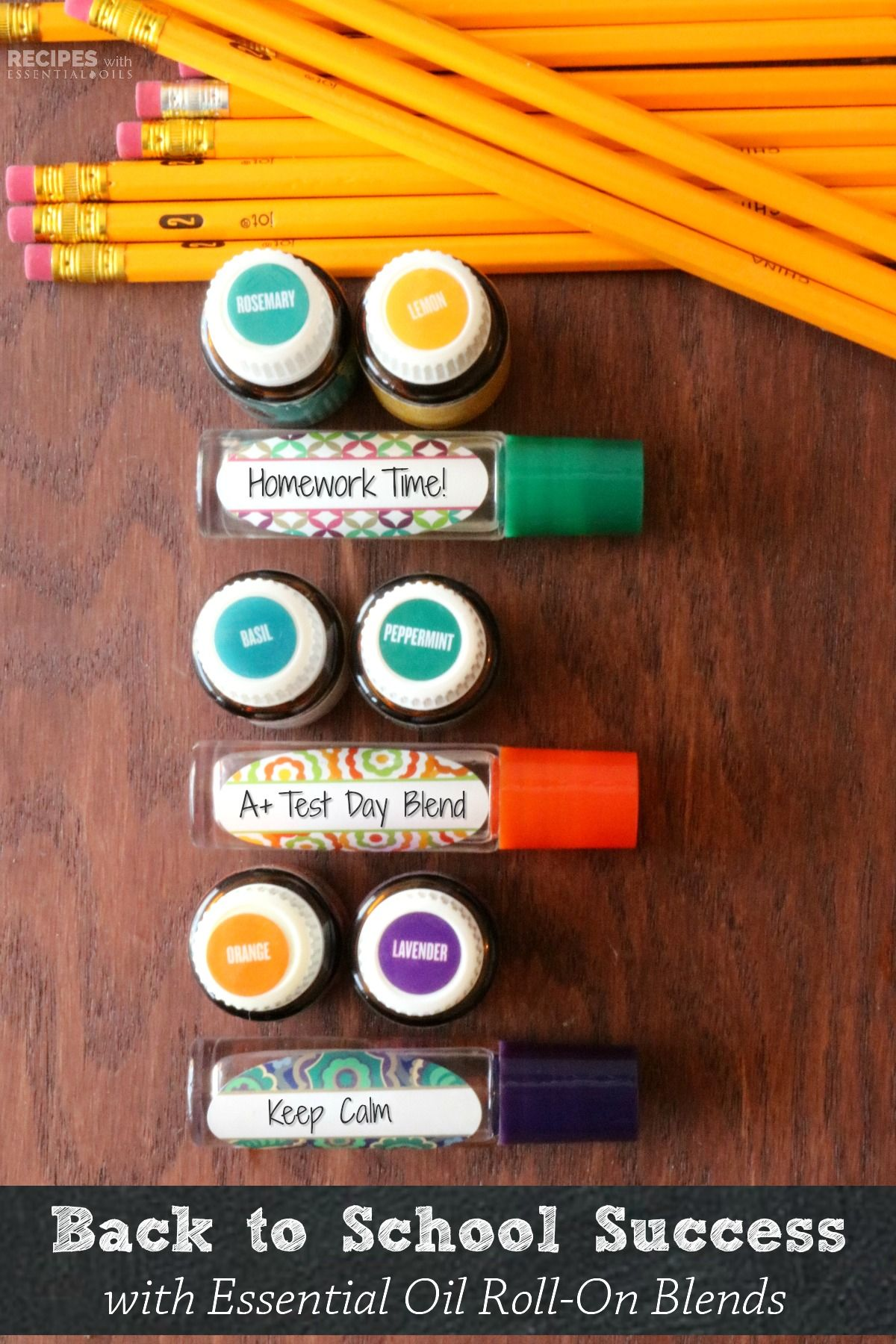 Back To School Success with Oils + 3 Recipes for Calm and Focused
