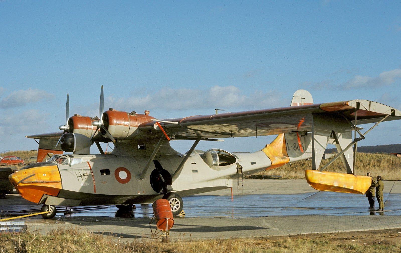 Consolidated PBY6 Catalina. Militær, Bruges
