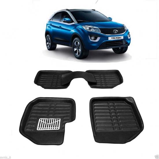 Leathride Texured 3d Car Floor Mats For Tata Nexon In 2020 Car Floor Mats Car Body Cover Car