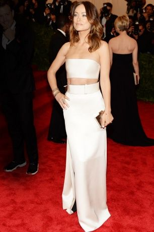 Vogue Daily — Olivia Wilde in Calvin Klein Collection. Met Gala 2013