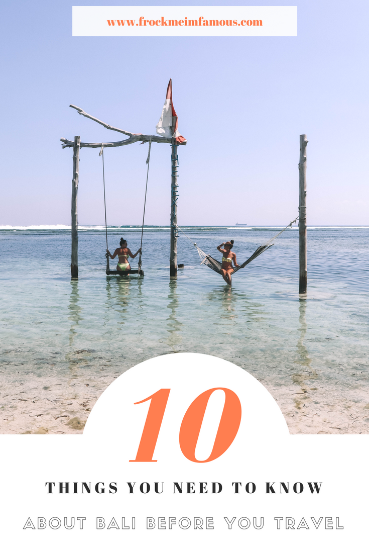 10 Things You Need To Know Before You Travel To Bali